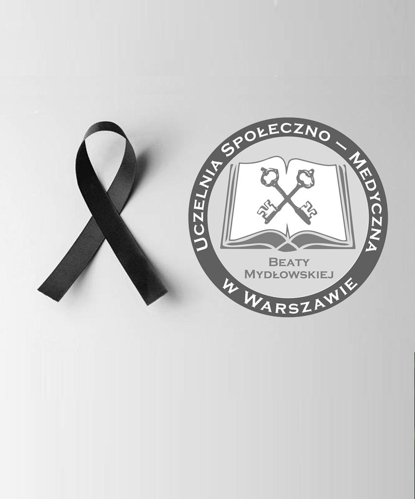 Zawiadomienie o śmierci dr Mirosława Rewekanta